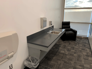 DTW's North Terminal Nursing Room