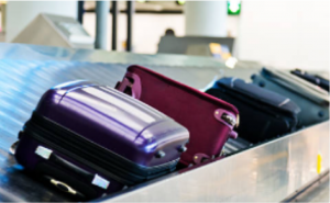 Baggage on carousel
