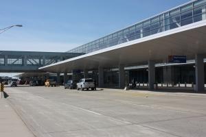 North Terminal Drop Off Area